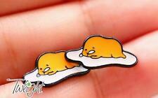 Gudetama eggs metal earring ear stud earrings 2PCS anime Studs new