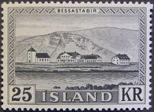 """ICELAND #305: MH 25k """"Bessastadir, President's Residence"""" issue"""