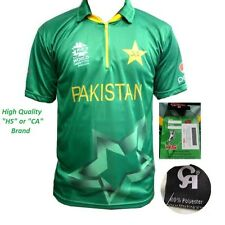 ICC Worldcup Cricket T20 2016 Pakistan Aj HS CA T-Shirt Jersey (M, L, XL)