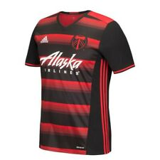 Portland Timbers MLS Adidas Men's Red Official Climacool Team Replica Jersey