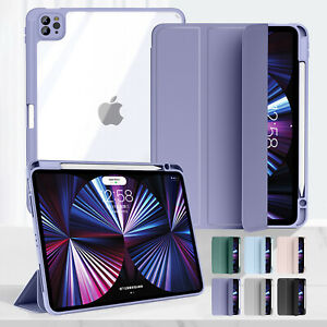 """For iPad 9th 10.2"""" 8th 7th/ 6th 5th/ Air 4/ Pro 11"""" Shockproof Smart Stand Case"""