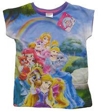Disney Princess Kurzarm T-shirt 134 lila
