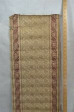 antique fabric remnant linen border 14 x 36 in. early 19th c 1800