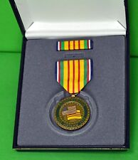 Vietnam War Commemorative Medal & Ribbon Cased set - Veteran Gift Set