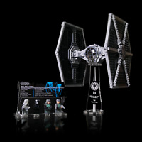 LEGO 75211 TIE FIGHTER - Custom Display Stand & UCS Plaque