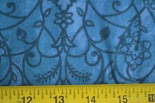 By 1/2 Yd, Blue on Blue Quilting Cotton, P&B/Persia/683-B, B617