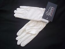 Childrens Horse Riding  Gloves -White - Large (approx 11-12yrs) Shires