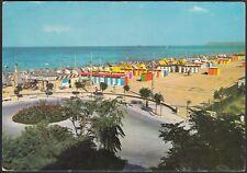 AA7794 Miramare di Rimini - Spiaggia - Cartolina postale - Postcard