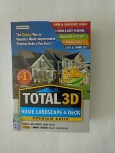 Total 3D Home, Landscape & Deck - Premium Suite