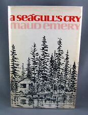 A SEAGULL'S CRY (1975) 1st Ed. SCARCE SIGNED by author Maud Emery (VG/VG hc/dj)