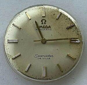 1967 Omega Swiss Automatic Seamaster De Ville mens watch movement, cal. 550