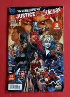 Justice League vs Suicide Squad Rebirth Sep 01/2017 + Poster Panini DC ungelesen