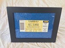 Neil Diamond Concert ticket Rod Laver Arena Melbourne Park