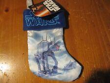 "NWT Disney Star Wars Holiday Stocking, 7"" Classic U Command ATAT Walker Fuzzy"