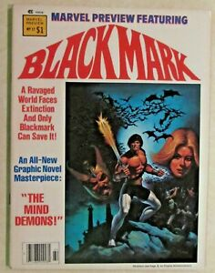MARVEL PREVIEW MAGAZINE - ISSUE # 17 - BLACKMARK - GIL KANE'S THE MIND DEMONS