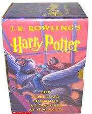 """3 of 4 books of  """"The Harry Potter Collection""""  + Half Blood by J.K. Rowling"""
