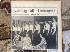 B1-4 ephemera 1961 picture st paul's church youth group margate revue