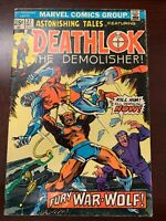 Marvel Comics Astonishing Tales featuring Deathlok 27, 30, 34