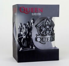 Queen Logo Freddy Mercury Music Drinkware Stein Glass