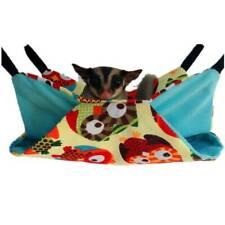 New listing Pet Hamster Hammock Bird Ferret Rat Squirrel Hanging Bed House Nest Toys