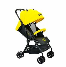 KidsEmbrace Batman Lightweight Compact Stroller, DC Comics in Yellow Free Ship!