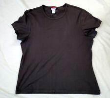 L.L.Bean Travelers short sleeve top size M / purple drab