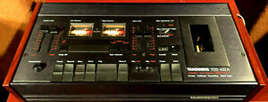 ~Vintage~ Tandberg TCD 420 A Stereo Cassette Tape Deck Recorder