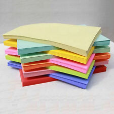 50 Sheets/Pack 7 Colors Choose A4 Color Copy Cover Paper Craft Card Paper 80gsm