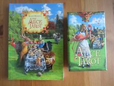 Alice Tarot 1st Edition + Guidebook by Baba Studios OOP HTF