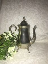 Vintage Silver-Plated Coffee Tea Chocolate Pot Pitcher