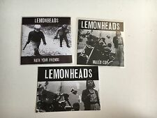 THE LEMONHEADS - HATE YOUR FRIENDS + MALLO CUP 2 X  PROMO CD POSTCARD