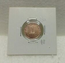 MALAYA & BRITISH BORNEO 1cent coin 1962  High Grade #8