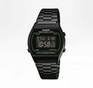 Casio Armbanduhr B640WB-1BEF Black Unisex Armbanduhr Neu