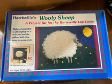Friendly Loom Wooly Sheep Wall Hanging Pillow Harrisville
