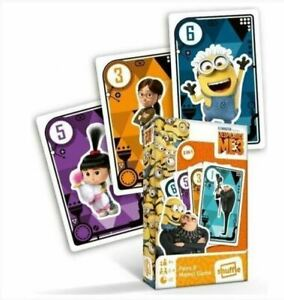 Despicable Me 3 - Black Peter and Memo, Playing Cards. Minionki Karty do gry