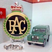 Land Rover Série 1 2 2a 2b Émail Rac Panneau avant Métal Badge Voiture &