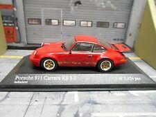 PORSCHE 911 Carrera RS 3.0 1974 G-Modell rot red Minichamps 1:43