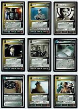 STAR TREK CCG HOLODECK COMPLETE SET OF 20 RARE CARDS