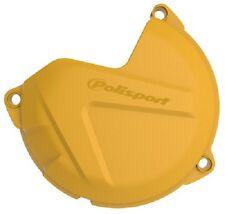 NEW Polisport Clutch Cover Protector Yellow Husqvarna FC/FE450 2014-2015