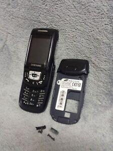 Samsung D500 Handy Gehäuse blau #3 C SGH-D500 phone case cover housing blue
