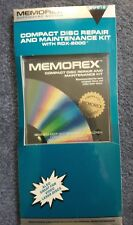Memorex Compact Disc Repair And Maintenance Kit With Rdx-2000, New
