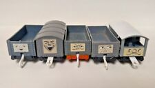 Set Lot of 6 DIFFERENT Troublesome Cargo Face Cars Thomas Train and Friends Rare
