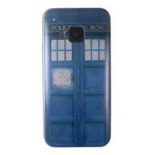 Doctor Dr Who Police Call Box Ultra Slim TPU GEL Case Cover Skin for HTC One M9