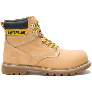 Caterpillar Boots Men's Second Shift Leather Steel-Toe Work Boot P89162