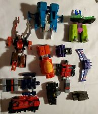 Transformers lot of Parts and Pieces for Repair or Restoration Vintage