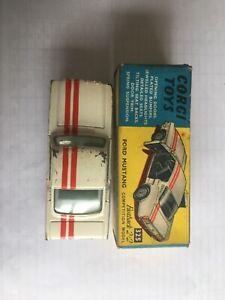 Corgi Toys Ford Mustang 325 wi with original box
