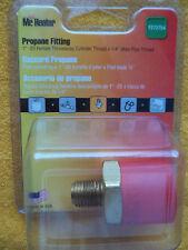 "Mr Heater F273754 Propane LP Gas Adapter 1/4"" Male Pipe Thread NEW"