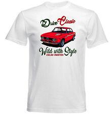 VINTAGE ITALIAN CAR ALFA ROMEO GTA JUNIOR - NEW COTTON T-SHIRT