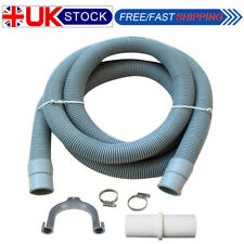 Washing Machine Dishwasher Drain Waste Hose Extension Pipe Kit Universal 2M UK