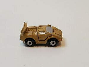 Vintage Galoob 1988 Micro Machines Deluxe Series GOLD Lamborghini Countach 🔥👀
